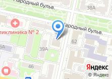 Компания «Афина» на карте