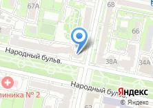 Компания «Доброе кафе» на карте