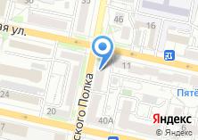 Компания «Белвнештранс» на карте
