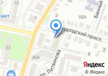 Компания «Белгородский центр сертификации и менеджмента» на карте
