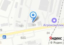 Компания «Белгородгеология» на карте