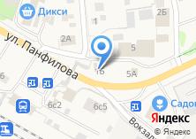 Компания «Тон» на карте
