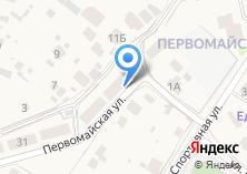 Компания «Строящийся жилой дом по ул. Первомайская (г. Звенигород)» на карте