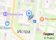 Компания «IstraNet» на карте