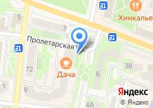 Компания «Satisfaction» на карте