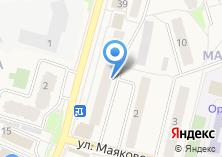 Компания «Магистра» на карте