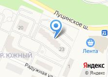 Компания «Строящийся жилой дом по ул. Санатория Звенигород пос (г. Звенигород)» на карте