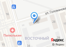 Компания «Восточный» на карте