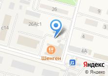Компания «Сладкий рай» на карте