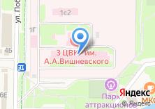 Компания «Главный военный клинический госпиталь им. академика Н.Н. Бурденко» на карте