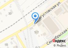 Компания «Риуз» на карте