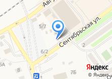 Компания «Мастерская по ремонту обуви и изготовлению ключей на Сентябрьской» на карте