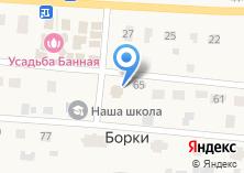 Компания «Продуктовый магазин на ул. Борки д» на карте