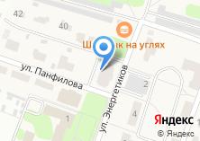 Компания «Строящийся жилой дом по ул. Панфилова (г. Дедовск)» на карте