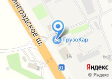 Компания «Geo-сервис» на карте