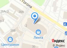 Компания «Зелрент» на карте