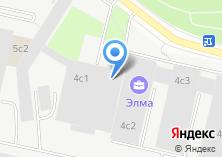 Компания «Технопарк-Зеленоград» на карте