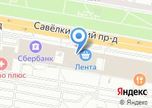 Компания «РОДЭНА-трэвел» на карте