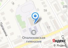 Компания «Опалиховская гимназия №7» на карте