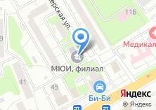 Компания «МЮИ» на карте