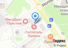 Компания «Дворец» на карте