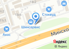 Компания «СпецГрузШина» на карте