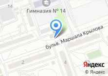 Компания «КОМОК 50» на карте