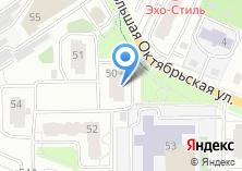 Компания «Новое Киевское» на карте