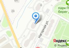 Компания «Магазин электротехники на Нагорной» на карте