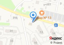 Компания «Удачное» на карте