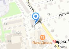 Компания «Байтик» на карте