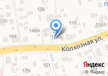 Компания «Продуктовый магазин на Колхозной» на карте
