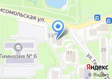 Компания «Югория» на карте