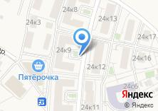 Компания «Строящийся жилой дом по ул. Овражная (Сходня) (г. Химки)» на карте