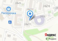 Компания «Строящееся административное здание по ул. Овражная (Сходня) (г. Химки)» на карте