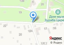 Компания «Курсовая» на карте