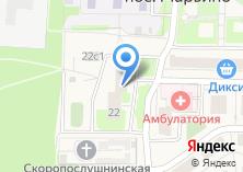 Компания «Марьинская детская амбулатория» на карте