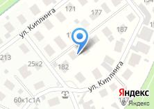 Компания «Строящийся коттеджный поселок по ул. Бристоль» на карте