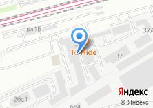 Компания «Технолайн» на карте