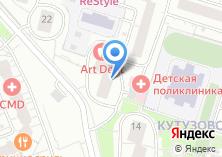Компания «ANNA D`LUXE» на карте