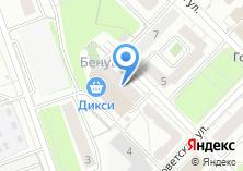 Компания «Строящийся жилой дом по ул. Лесная (г. Красногорск)» на карте