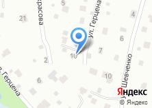 Компания «Аквариус» на карте