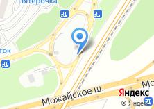 Компания «Шиномонтажная мастерская на Можайском шоссе 19 км» на карте