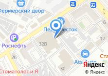Компания «Содействие» на карте