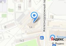 Компания «Фотосалон на Железнодорожном переулке» на карте
