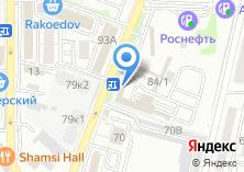 Компания «Карентал» на карте