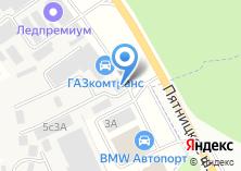 Компания «Автофургон» на карте