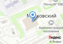 Компания «Московский» на карте