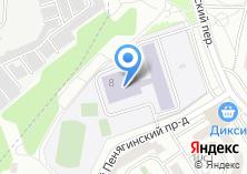 Компания «Средняя общеобразовательная школа №1943» на карте