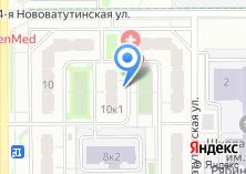 Компания «Строящийся жилой дом по ул. Новые Ватутинки микрорайон» на карте
